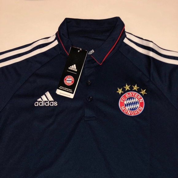 new arrival c7937 841ad Bayern Munich 2019 Polo Jersey Authentic with Tags NWT